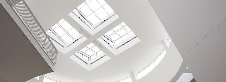 Falso techo para zona de trabajo